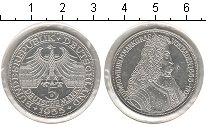 Изображение Монеты ФРГ 5 марок 1955 Серебро XF