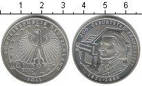 Изображение Монеты Европа Германия 10 евро 2011 Серебро UNC-