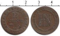 Изображение Монеты Вестфалия 2 сантима 1810 Медь VF Наполеон.