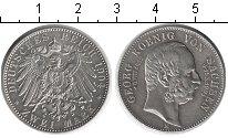 Изображение Монеты Саксония 2 марки 1904 Серебро XF Георг