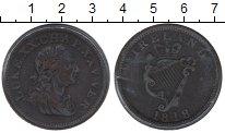 Изображение Монеты Ирландия 1 пенни 1818 Медь XF
