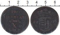 Изображение Монеты Европа Венгрия 10 полтура 1704 Медь