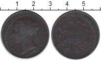 Изображение Монеты Индия 1 цент 1845 Медь VF