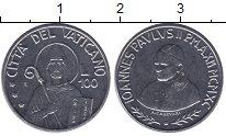 Изображение Мелочь Европа Ватикан 100 лир 1990  UNC-
