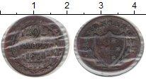 Изображение Монеты Европа Швейцария 2 раппа 1814 Медь XF