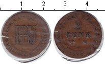 Изображение Монеты Вестфалия 2 сантима 1810 Медь VF