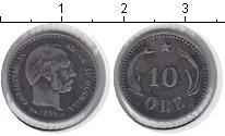 Изображение Монеты Дания 10 эре 1874 Серебро XF