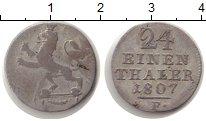 Изображение Монеты Гессен-Кассель 1/24 талера 1807 Серебро VF
