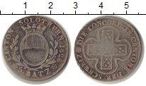 Изображение Монеты Швейцария 5 батзен 1826 Серебро VF