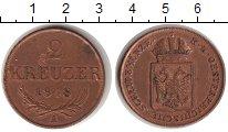 Изображение Монеты Европа Австрия 2 крейцера 1848 Медь XF