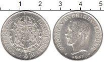 Изображение Мелочь Европа Швеция 1 крона 1935 Серебро XF