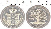 Изображение Монеты Новая Зеландия Ниуэ 5 долларов 1993 Серебро Proof-