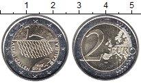 Изображение Мелочь Европа Финляндия 2 евро 2015 Биметалл UNC-
