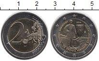 Изображение Мелочь Греция 2 евро 2015 Биметалл UNC