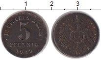 Изображение Монеты Европа Германия 5 пфеннигов 1919 Железо VF