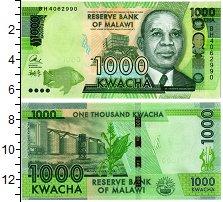 Изображение Банкноты Малави 1000 квач 2013  UNC