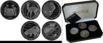 Аукцион: лот Сьерра-Леоне 10$ Ag 925 2008