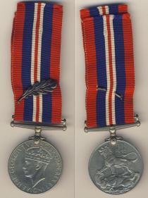 Аукцион: лот Великобритания Медаль. Великобритания 1939-1945 г. сплав не известен 1939-1945