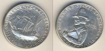 Аукцион: лот США 1/2 доллара серебро 900 проба 1920