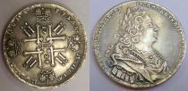 Аукцион: лот 1727 – 1730 Петр II 1 рубль Серебро 1727