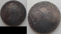 Аукцион: лот Россия 1 рубль Серебро 1725