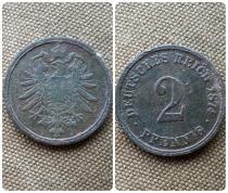 Аукцион: лот Германия 2 pfennig Не указан 1874