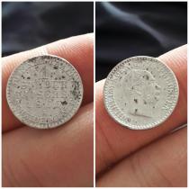 Аукцион: лот Германия 1 Silber Groschen Серебро 1863