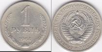 Аукцион: лот СССР 1961-1991 1 рубль Cu-Ni 1964