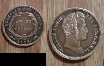 Аукцион: лот Индия Голландская 1/4 гульдена Серебро 1826