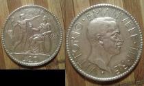 Аукцион: лот Италия 20 лир Серебро 1927