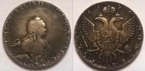 Аукцион: лот Россия 1 рубль Серебро-золото 1754