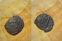 Аукцион: лот Византия фоллис Медь 557