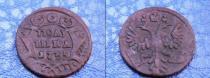 Аукцион: лот 1730 – 1740 Анна Иоановна Полушка Медь 1735