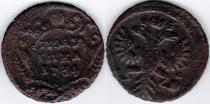 Аукцион: лот 1730 – 1740 Анна Иоановна Полушка Медь 1734