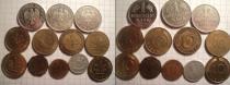 Аукцион: лот Германия немецкие монеты никель разный