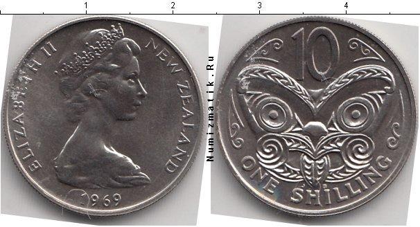 Каталог монет - Новая Зеландия 10 центов