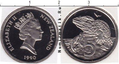 Каталог монет - Новая Зеландия 5 центов