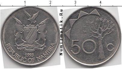 Каталог монет - Намибия 50 центов