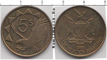 Каталог монет - Намибия 5 долларов