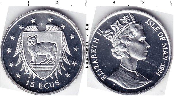 Каталог монет - Остров Мэн 15 экю