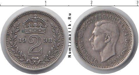Каталог монет - Великобритания 2 пенса