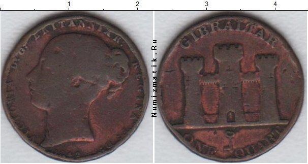 Каталог монет - Гибралтар 1 кварто