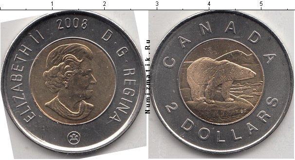 Каталог монет - Канада 2 доллара