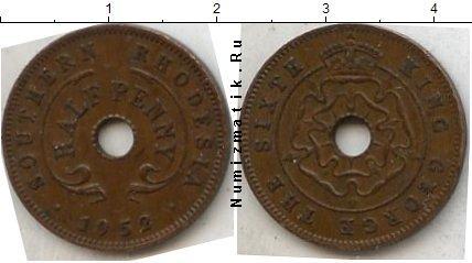 Каталог монет - Родезия 1/2 пенни