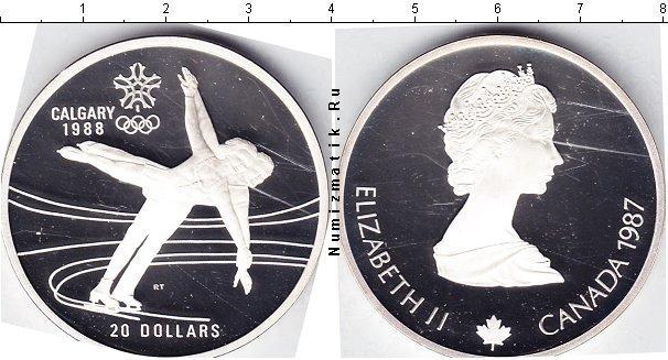 Каталог монет - Канада 20 долларов
