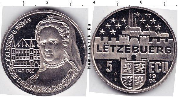 Каталог монет - Люксембург 5 экю