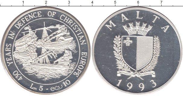 Каталог монет - Мальта 5 фунтов