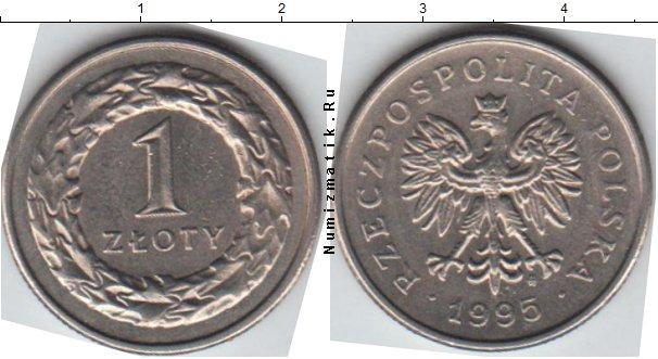 Каталог монет - Польша 1 злотый