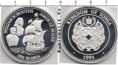 Каталог монет - Тонга 1 паанга