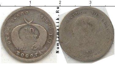 Каталог монет - Колумбия 10 сентаво